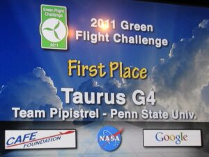 NASA Green Flight Challenge winners