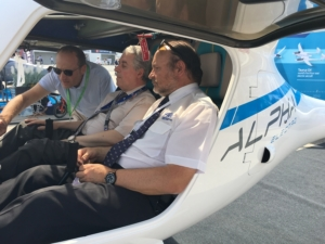 Alpha Electro at Le Bourget