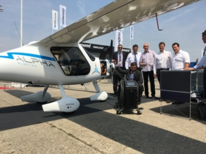Alpha Electro at 2018 Le Bourget