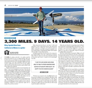 2019-07-24 - EAA Airventure Today Magazine - 3300 miles 9 days 14 years old