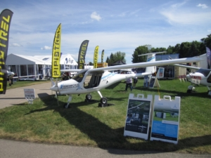Oshkosh 2019 - Pipistrel booth